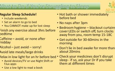 12 ways to get better sleep