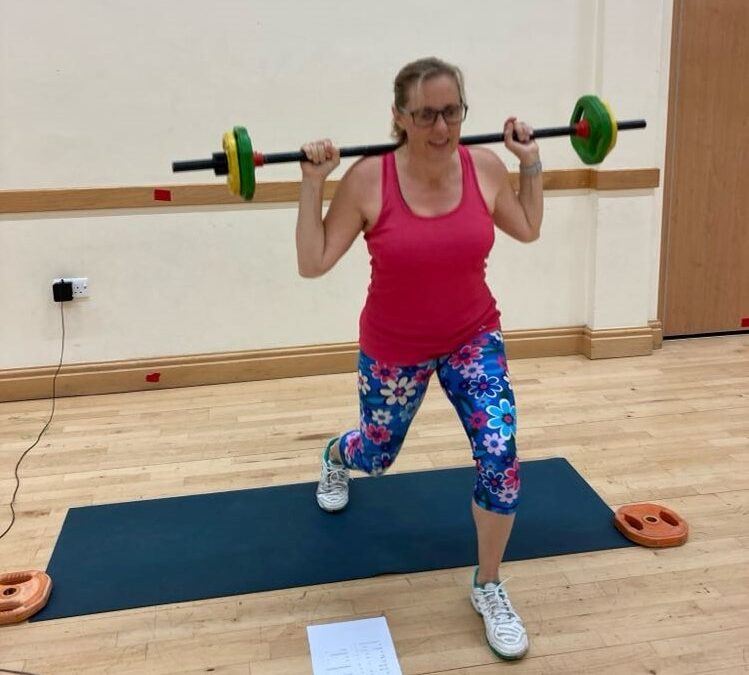 Pump class lunges with Ad Astra Carterton